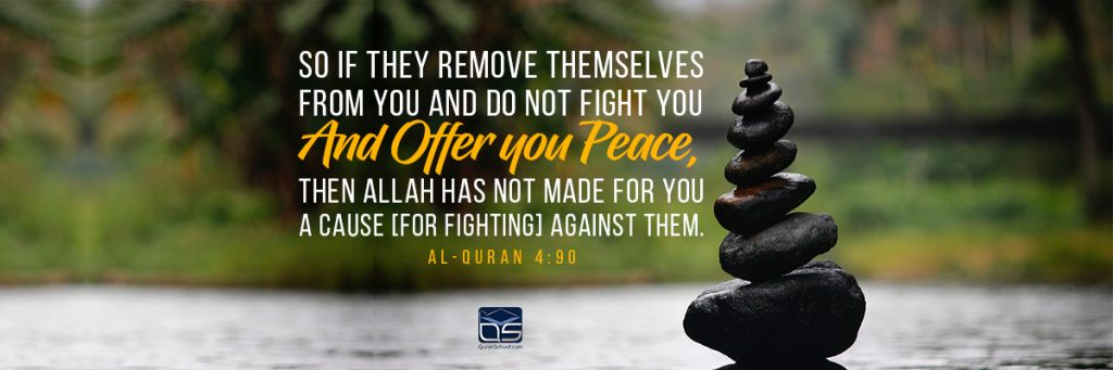 Islam Advocates Peace, Justice, and Equality